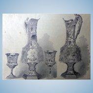 Scarce Daguerreotype Award Prizes for Best Daguerreotypes 1853