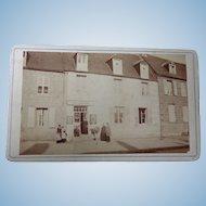 1860's CDV Carte deVistie Photo of Photographers Studio Business