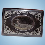 c.1780's Highly unusual and rare Georgian Period Ladies Vanity Diary Compact