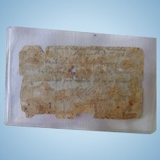 RARE Confederate Civil War Columbia,SC Hospital Release Order for Soldier to Report for  Duty
