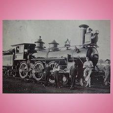 Wabash Railroad Locomotive 558 with Crew