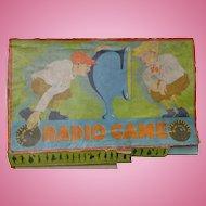 1926 Milton Bradley Radio Board Game