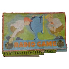 1926 Milton Bradley Radio Board Game