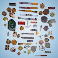 World War 1 Medals & Memorabilia from one decorated Veteran