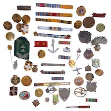World War 1 Medals & Memorabilia from one decorated Veteran