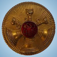 Fire Chief Badge from Montgomery,Alabama