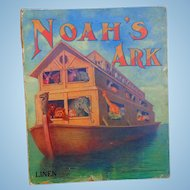 Noah's Ark Linen Book by Sam Gabriel & Sons 1913