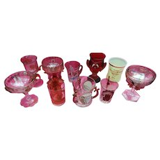 Shriners Syria Convention Glass Collection 1897-1911