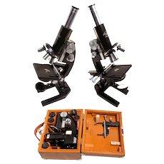 Tiyoda MKR Folding Field Microscope~Rare Beauty Case & Key