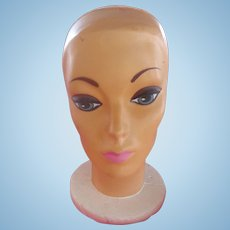 Groovy mannequin head from the old Elder-Beerman department store located in Cincinnati,Ohio. c.1960's