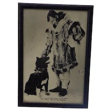 Autographed Photo of Artic and musher legend Gunnar Kaasen