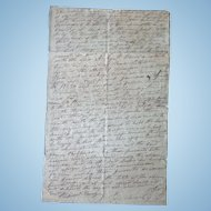 1828 Hardin County,Tn Indenture between James Robinson & Archie B.Davis Jessie Cherry & John Houston