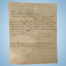 Lauderdale County,Alabama Court Summons W.D.Chandler Henry Palmer 1897
