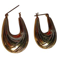 Chickabiddy 14kt. Gold Ladies Earrings Balance,Beauty & Style - Red Tag Sale Item