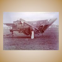 Marion,Oh. Archive 19th Century Albumen Photos of Early Hubber Tractor and Farm Equipment Ikensaa & Dennison Garage