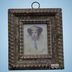 18th century American Portrait of an Interesting Woman