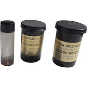 24kt. Gold Panned Flakes & Nuggets Alaska Eldorado Gold Mines