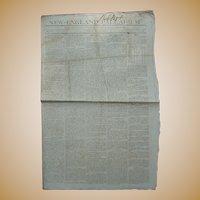 New-England Palladium 1812 Thomas Jefferson feuding with James Monroe &  Napolean Bonoparte