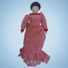 Large China Head Doll in Original Dress From Oldest Store Museum St. Augustine,Florida