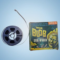 The Blob Super 8mm Film Steve McQueen Horror Film in Original Box