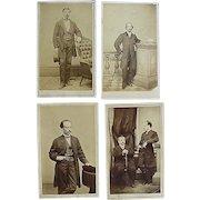 Civil War CDV Photographs of Santo Domingo Slavery Commission to Abraham Lincoln