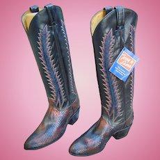 Incredible Tony Lama  Ladies Boots Custom Made Size 5
