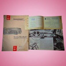 Legandary Original Mercedes 300 Gull-wing Brochure
