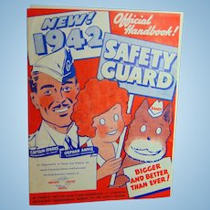 1942 Little Orphan Annie's Safety Guard Membership Kit