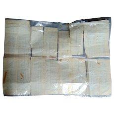 1864 Civil War Payroll Manuscript for the Entire Union Army $1,000,000 million Dollars