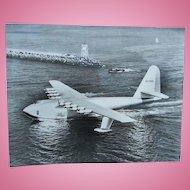 Original Spruce Goose and Honolulu Clipper Test Run Photographs Howard Hughes