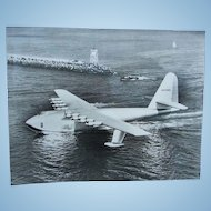 Original Spruce Goose and Honolulu Clipper Test Run Photographs Howard Hughes