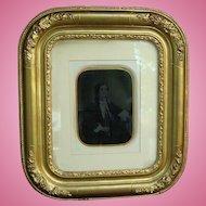Ambrotype of Wife of Scotland Diplomat William John Napier 1850