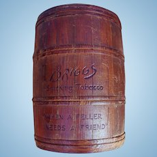Briggs Smoking Tobacco Wood Humidor Barrel Container