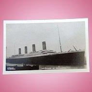 RPPC SS Titanic docked in Southampton