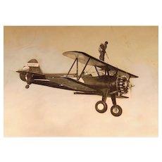 Aviation Daredevil George Waltz in California c.1940's