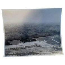 Charles Lindbergh The Long Eagle lands at France Field Canal Zone Photograph