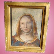 Mesmerizing Renaissance Portrait of Madonna