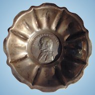 Highly Unusaul 1801 France-Napoleon-Peace of LUNÉVILLE  Silver Medal Snuff Bowl