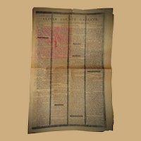Newspaper Ulster County N.Y. Death of General George Washington Jan.4 1800