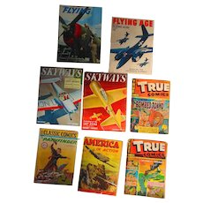 World War 2 Art Collection of Comic Books and Magazines