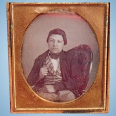 Gainesville, Florida daguerreotype of Gold Finger Midget