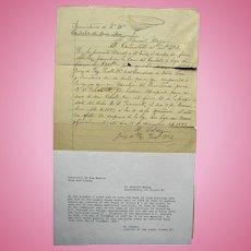 1897 New Mexico Territory Dona Ana County Arrest Warrant for Horse Thief