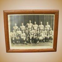 1940's University of Michigan Baseball Photograph