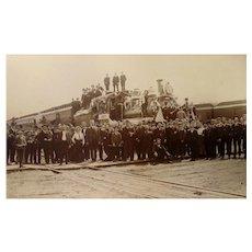 Creston,Iowa Burlington-Missouri  Railway GRAND OPENING of Depot Celebration 1899