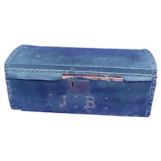 1840's 49er Gold Rush Stage Coach Trunk
