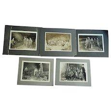Riveting Joplin,Missouri Samson L & Z Coal Mining Photos from 1912
