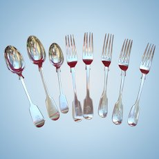 Sterling Silver Flatware of the Bescher Family of Kent, Co York, Bristol, Southwell, India & Australia