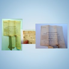 1840 Last Will and Testament of Clock-maker John Osgood Hanverhill, New Hampshire