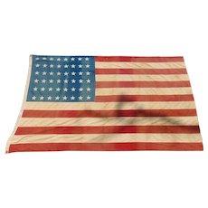 48 Star US Naval Flag USS Indianapolis World War 2