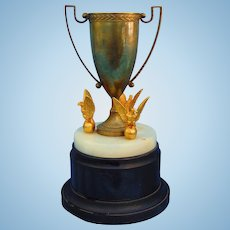 1930's Major League Baseball Presentation Trophy Goldsmith Brothers Cincinnati